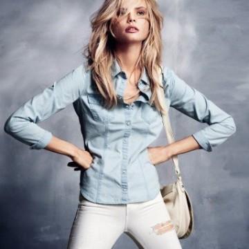 Десет страхотни предложения за дамски дънкови ризи