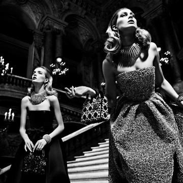 Роклите на Диор в Парижката опера