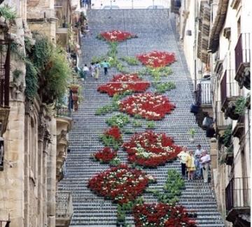 Цветните стълби на Сицилия