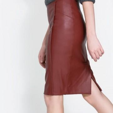 Многофункционалната кожена пола