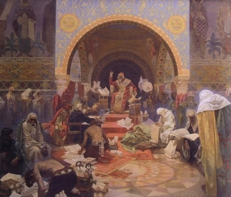 Зрънца от историята на Прага – Славянският епос на Алфонс Муха