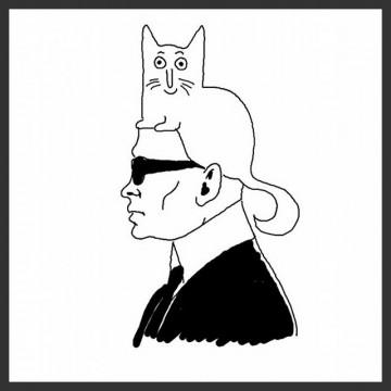 Котешката колекция на Карл Лагерфелд