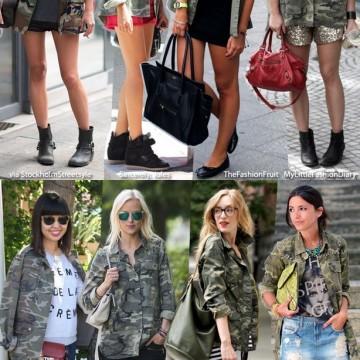 Момичета – войници в града
