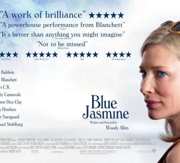 """Син жасмин""/ Blue Jasmine на Уди Алън (2013)"