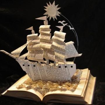 Скулптури от книги