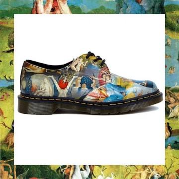 Обувки с картини от Йеронимус Бош