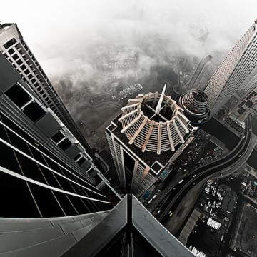 Над покривите на Дубай