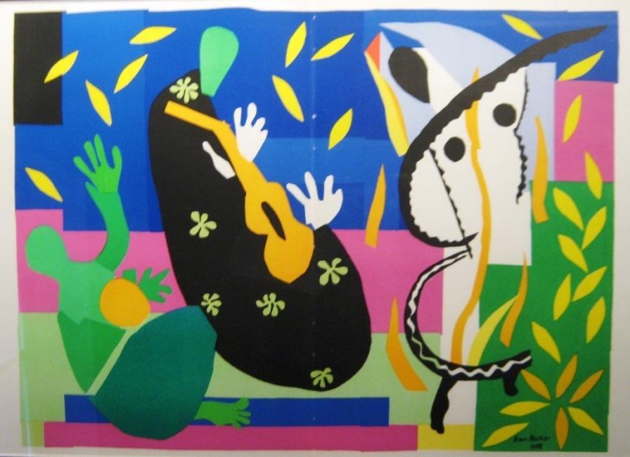 Изрезки и колажи на Анри Матис в Tate Modern