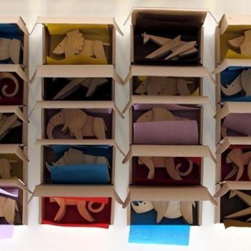 Дървени играчки ESNAF: предизвикателство за въображението