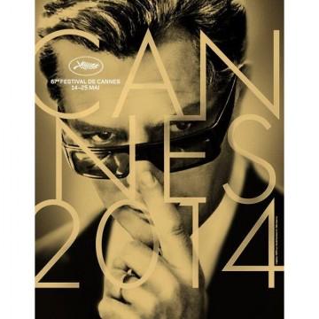 Марчело Мастрояни на плаката на кинофестивала в Кан