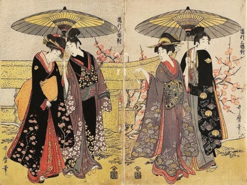 Японските модни списания от ХVІІ век