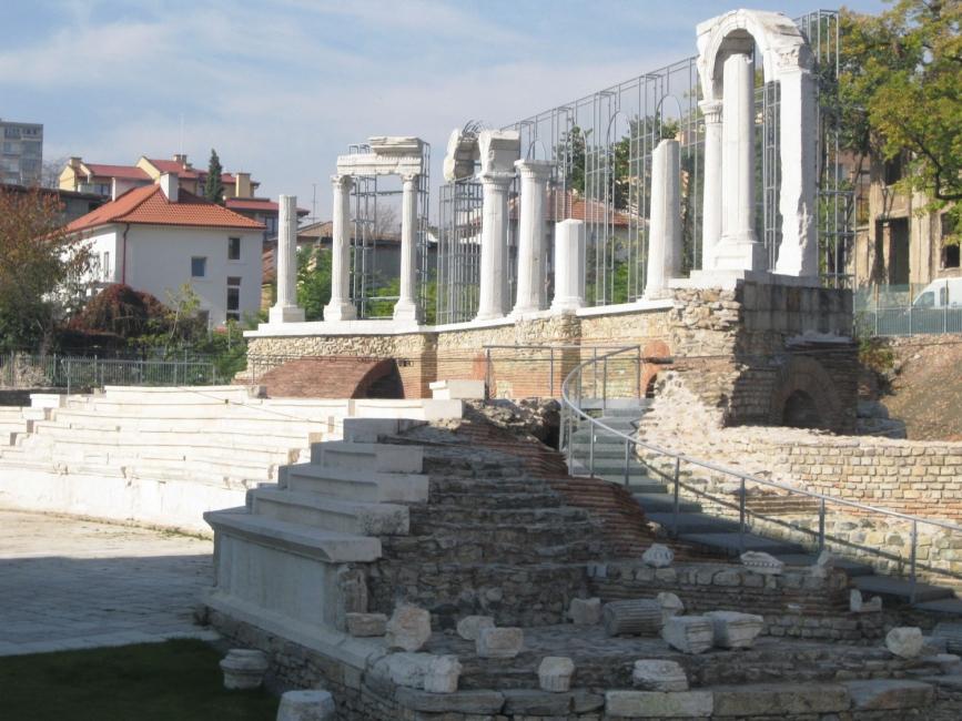 """Античният форум """"Августа Траяна"""" в Стара Загора"""
