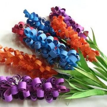 Как да си направим хартиени цветя в 20 стъпки