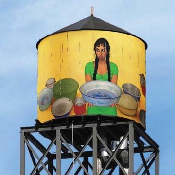 Резервоарите на Ню Йорк като произведения на изкуството