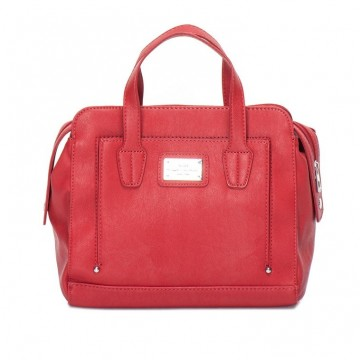Прелестната червена чанта на Mexx