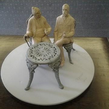 В кой свят точно Алеко и Бай Ганьо са на една маса?