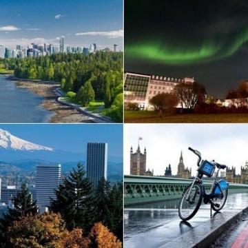 5 екологични световни столици