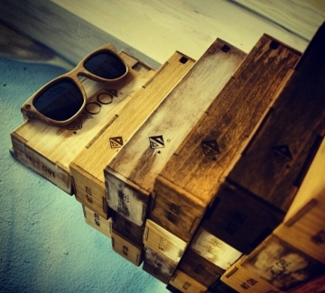 Дървените очила dWOOD