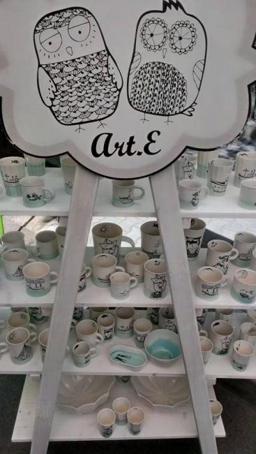 Любими чашки и хрумки от Art.E