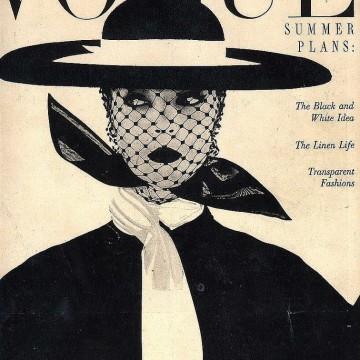 Вдъхновяващи винтидж корици на сп. Vogue