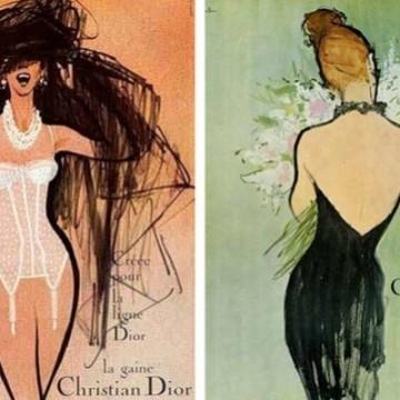 Красотата в един силует - модата като картина