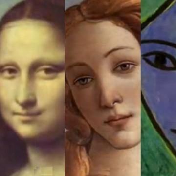 Портрети на момичета от 500 години в три минути