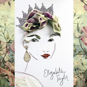 Шест модни икони от бижута и цветя