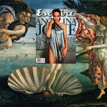 Ако Ботичели можеше да нарисува Анджелина Джоли