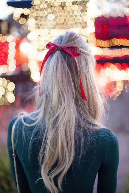 Вдъхновени от Pinterest: Красива панделка в косите