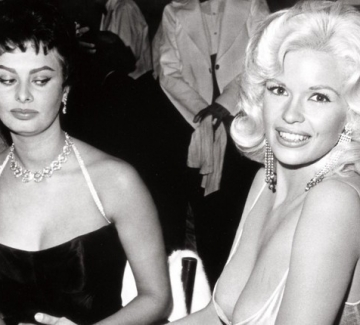София Лорен за скандалната снимка с Джейн Мансфийлд