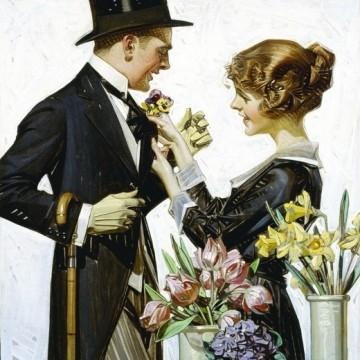 Цвете в бутониерата – символът на истинския джентълмен
