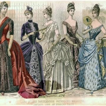 Модата през 1880 година – всеки ден си има рокля
