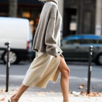 Вдъхновени от улицата: Как се носят обувки в телесен цвят?