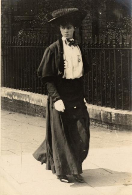 Улична мода от 1906 година
