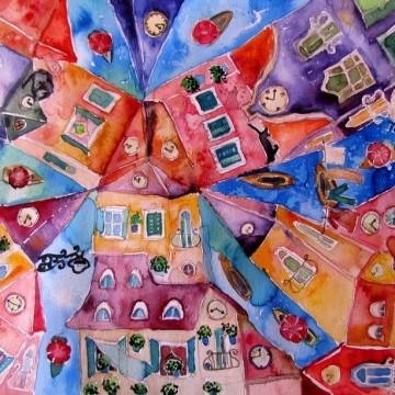 Картините на Ерна - цветни и прекрасни
