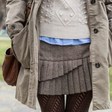 Mish Mash Look: Назаем от английската колежанска мода