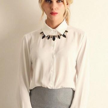 Находка на деня: Елегантна бяла риза