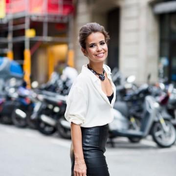 Вдъхновени от улицата: Как се носи кожена пола?