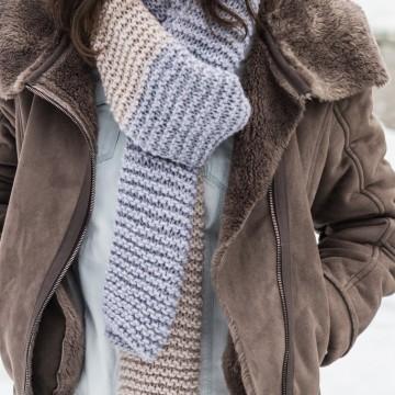 Уикенд с помпон и топъл шал