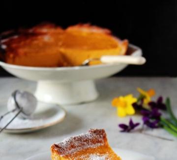 Лятна торта с рикота и лимони