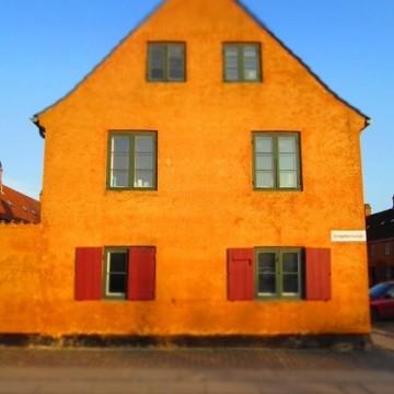 Жълтите моряшки къщи на Копенхаген
