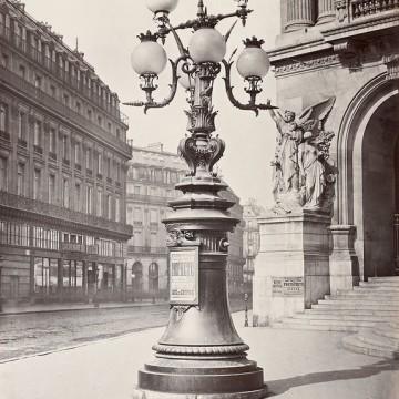 Газените фенери на Париж през 1870 година