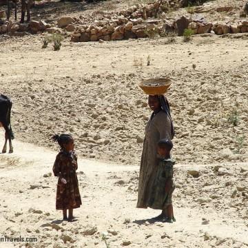 Една жена в Етиопия
