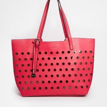 Удобна цветна пролетна чанта