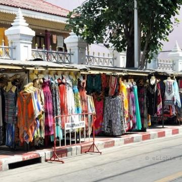 Главозамайващите улични пазари на Банкок