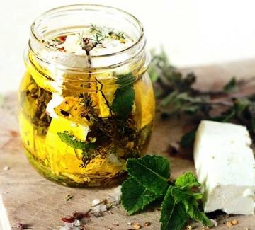 От А до Ям: Мариновано бяло сирене