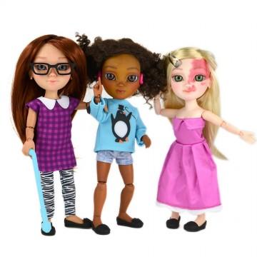 Кукли с увреждания... като мен