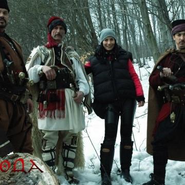 Зорница София снима филм за Румена Войвода