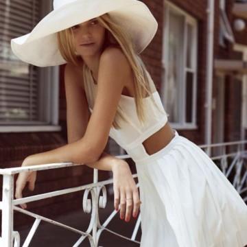 Как се носи шапка през лятото?