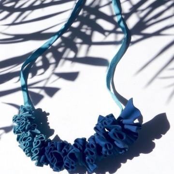 Лятната колекция бижута на Даяна Казакова - потъване в синьото
